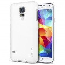 Cover Samsung Galaxy S5 Spigen SGP Ultra Fit Smooth Weiß  13,99 €