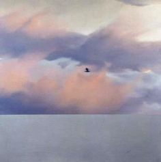 Gerhard Richter - Seascape with Bird, 1970, 170 x 170cm, Catalogue Raisonné: 252, Oil on Canvas
