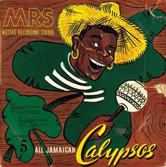 Monty Reynolds and His Silver Seas Orchestra- All Jamaican Calypso: Series 5 (Motta's, 1957) | ghostcapital