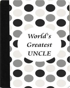 Rikki KnightTM World's Greatest Uncle Black Polka Dot Kindle® FireTM Notebook Case Black Faux Leather - Unisex (Not for Kindle Fire HD) by Rikki Knight. $48.99. The Kindle® FireTM Notebook Case made out of Black Faux Leather is the perfect accessory to protect your Kindle® FireTM in Style providing the ultimate protection your Kindle® FireTM needs The image is vibrant and professionally printed - The Kindle® FireTM Case is truly the perfect gift for yourself or your love...