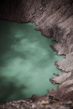 El Salvador - fotografia de Laguna de azufre al interior del Volcan de Santa Ana