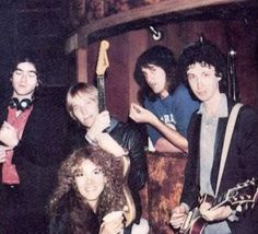 a rare photo of Stevie  ☆♥❤♥☆   with Tom Petty and The Heartbreakers, 1980