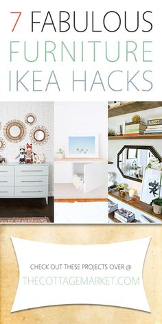 7 Fabulous Furniture Ikea Hacks - The Cottage Market