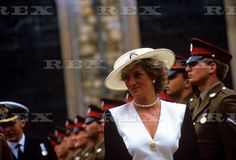 Princess Diana -  the Honorary Freedom of the City of London  Guildhall , Le 22 Juillet  1987