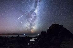 燃え尽きる流星、ニュージーランド | ナショナルジオグラフィック日本版サイト