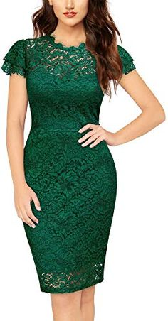 Shop a great selection of MISSMAY Women's Vintage Floral Lace Ruffle Sleeve Cocktail Party Slim Pencil Dress. Find new offer and Similar products for MISSMAY Women's Vintage Floral Lace Ruffle Sleeve Cocktail Party Slim Pencil Dress. Mode Outfits, Dress Outfits, Casual Dresses, Fashion Dresses, Ruffle Sleeve Dress, Floral Lace Dress, Lace Ruffle, Streetwear Mode, Streetwear Fashion