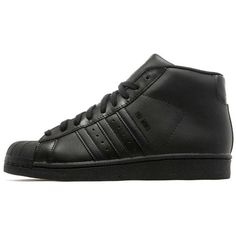 adidas Originals Pro Model (1,815 MXN) ❤ liked on Polyvore featuring men's fashion, men's shoes, mens high top shoes, mens high tops, mens breathable shoes, mens shoes and mens hi top shoes
