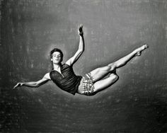 hot gay art - Flying Dancer Boy.