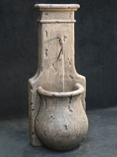 Al's Garden Art is manufactured by Fiore Stone, Inc. - An American manufacturer of one of the most sought after names in concrete decor for your home and garden. Garden Water Fountains, Diy Fountain, Stone Fountains, Outdoor Fountains, Container Water Gardens, Pool Water Features, Stone Bowl, Concrete Stone, Pool Waterfall