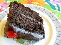 CHOCOLATE ZUCCHINI CAKE ~ You cannot tell this cake is low-carb...that's always the best part!