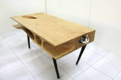 Keep Your Kitten Away From Your Laptop With This Handy Cat Desk | TIME.com