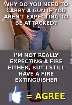 True story: my house burned down....lesson learned: fire ext everywhere!