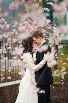 Wedding photo at Provo City Center Temple