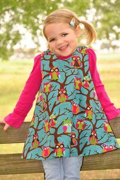 adorable little owl dress!