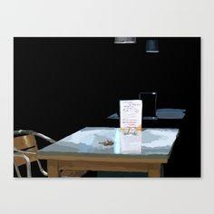 Dark Table Canvas Print by Dark Table, Canvas Prints, Art Prints, Photo Canvas Prints