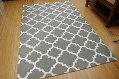 Breakfast at Gigi's: The Painted Rug Reveal and Tutorial