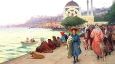 Walking along the Sea | by Osman Hamdi (19th century) Osman … | Flickr