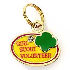 Girl Scout Volunteer Charm