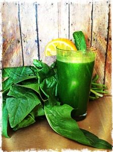 My 40 Day Juice Fast: Orange, Spinach and Mint. After 3 different juice fasts, I keep coming back to this classic. Great beginner juice.