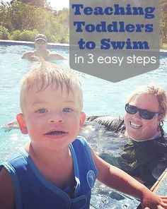 Teaching Toddlers to Swim #HuggiesSwimmers #PMedia #client