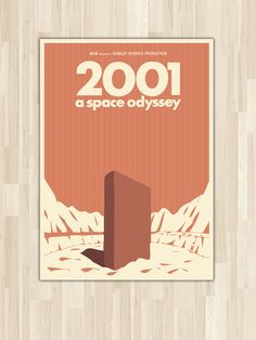 2001: A Space Odyssey Poster Art by pinepixel on Etsy