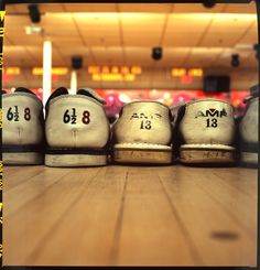 Cool bowling alley shoe print!  #photography #art