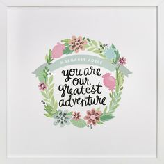 Greatest Adventure print for the nursery