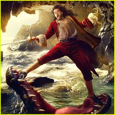 Russell Brand: Captain Hook in Disney Parks Ad Campaign! (and other celebrities in Disney roles)