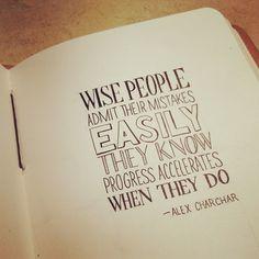 Wise People #lettering #sketch #typography - @seanwes | Webstagram