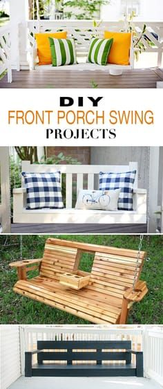 DIY Front Porch Swin