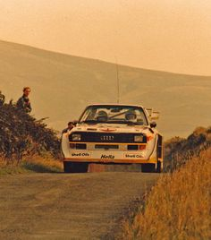 Michèle Mouton and Fabriza Pons on the Manx Rally on the Isle of Man