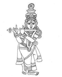 Heritage of India: Beautiful Kalamkari Painting Images Saree Painting, Kalamkari Painting, Kerala Mural Painting, Madhubani Painting, Fabric Painting, Pichwai Paintings, Indian Art Paintings, Indian Traditional Paintings, Madhubani Art