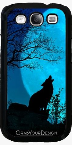 Thank you very much my buyer!  :)  Case for Samsung Galaxy S3 - Howling wolf - by PINO