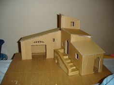 Awesome Plan Maison Creche Provencale that you must know, You?re in good company if you?re looking for Plan Maison Creche Provencale Christmas Nativity Scene, Christmas Villages, Christmas Crafts, Christmas Houses, Clay Houses, Paper Houses, Popsicle Stick Houses, Navidad Diy, Glitter Houses