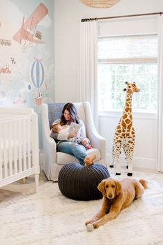 World Map Inspired Nursery with Neutral Details - Inspired By This