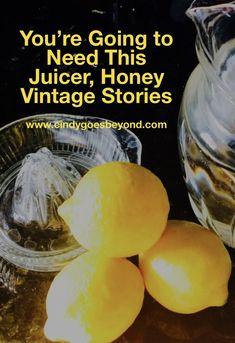 You're Going to Need This Juicer, Honey - Cindy Goes Beyond Vintage Depression Glass Juicer Vintage Stories Vintage Glass Juicer Safety Valve, Make A Person, Eating Raw, Healthy Drinks, Something To Do, Conditioner, Honey, Good Things, Depression