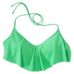 Junior's Ruffle Bandeau Swim Top -Assorted Colors- TARGET!!!