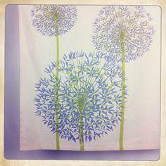 Allium's: zanna printed textiles