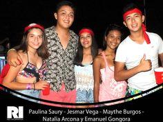 Paulina Saury - Jesmar Vega - Maythe Burgos - Natalia Arcona y Emanuel Gongora