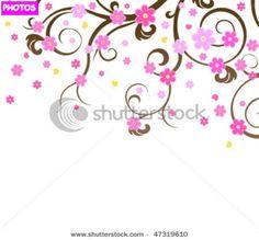 Cherry+Blossom+Tree+Drawing | Cherry Blossom Tree Drawing
