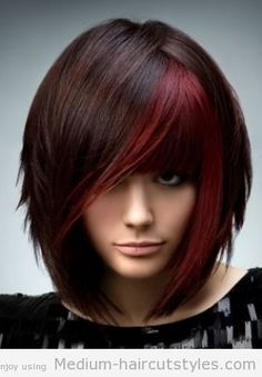 Astounding Medium Hair Styles Medium Lengths And Medium Hairs On Pinterest Short Hairstyles For Black Women Fulllsitofus