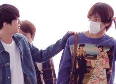 taejin   BTS JIN & V