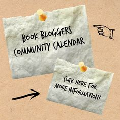 Get Involved in the Book Blogging Community - The Book Bloggers' Community Calendar http://bookbloggersintl.blogspot.co.uk/p/book-blogger-community-calendar.html