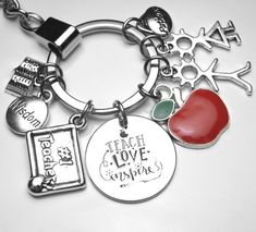LOVE MUCH-LAUGH OFTEN Antique Silver Plated Nugget Affirmation Traditional Charm