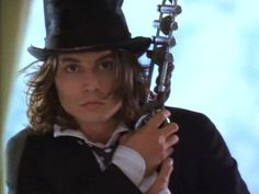 """Which Johnny Depp character is your true love? Sam Sam (from the 1993 movie """"Benny & Joon"""") is your true love! He is quiet and eccentric, idolizes Buster Keaton, and makes dramatic romantic gestures!"""