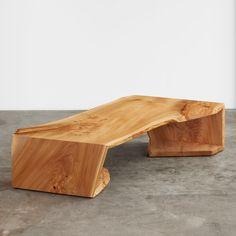 English elm multi fold coffee table