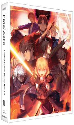 Fate/Zero Blu-ray Box Set 2 (Hyb) Limited Edition #RightStuf2013