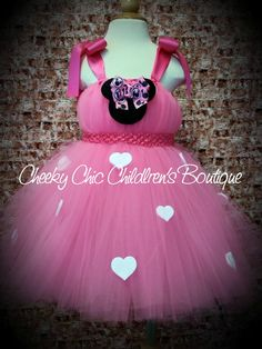 Minnie Mouse tutu dress :)