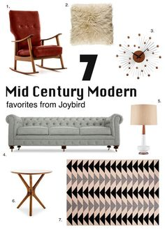 Mid Century Modern F