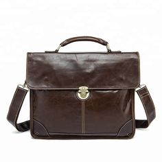 Men s Bag For Documents Leather Briefcase Laptop Handbags Totes Bags  Crossbody Messenger Bags Business Briefcase Men 20433011f1857